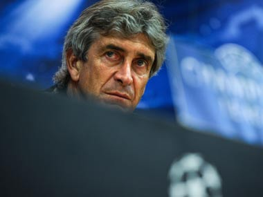 Manchester City manager, Manuel Pellegrini. Getty Images