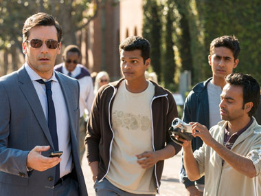 A still from Million Dollar Arm. Image courtesy Disney