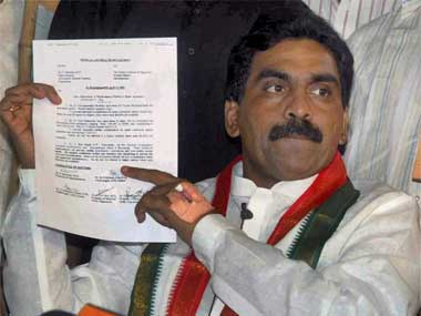Rajagopal has been strongly opposed to the creation of the new state. PTI