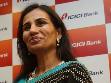 Chanda Kochhar. Reuters
