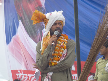 Yogendra Yadav is contesting for AAP from Haryana. SandipRoy/Firstpost