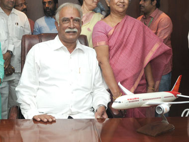 Civil Aviation Minister Pasupati Ashok. PIB