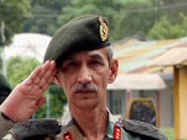 Northern Army Commander Lt Gen DS Hooda. AFP