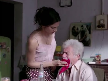 A still from the Finding Fanny trailer. Screengrab from YouTube.