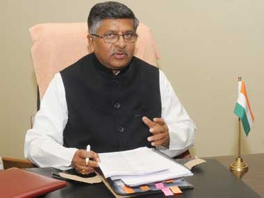 IT minister Ravi Shankar Prasad requests Apple to set up R&D facility in India