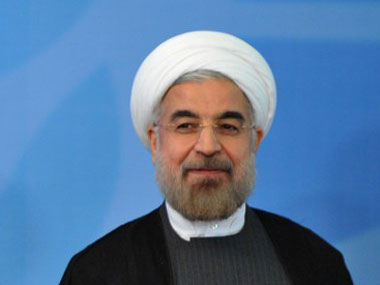 Hassan Rouhani. AFP.