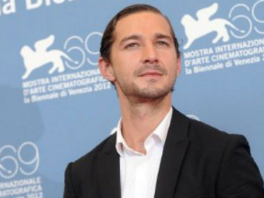 Shia labeouf cuts own face with knife for fury firstpost
