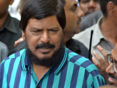 Ramdas Athawale blames inter-caste marriages for Dalit  atrocities, demands firearms for protection