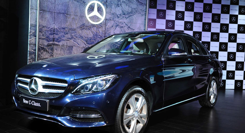Photos mercedes benz launches the new generation c class for Mercedes benz c class price in india