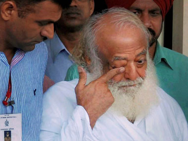 File photo of Asaram. PTI