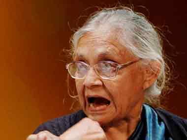 Former Delhi CM Sheila Diskhit. PTI.