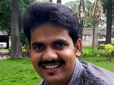 IAS officer DK Ravi. PTI