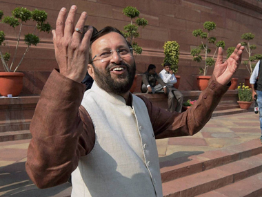Union Minister for Environment Prakash Javadekar. PTI