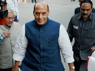 Home Minister Rajnath Singh said Vajpayee was loved by everyone. PTI