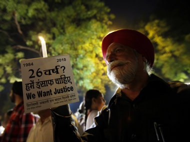 AAP MLA demanded SIT probe into the 1984 anti-Sikh riots. Reuters