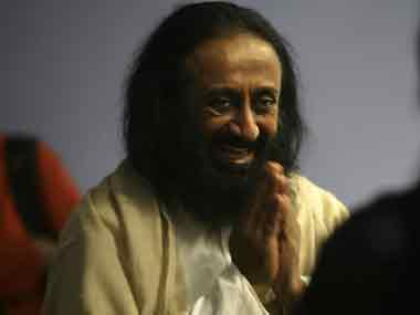 Sri Sri Ravi Shankar got death threats from the Islamic State. AFP