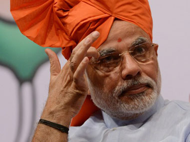 PM Narendra Modi said the well-being of farmers was a priority for the government. AFP