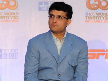 Sourav Ganguly has been named in the BCCI Working group. File photo: AFP