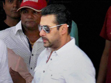 File photo of Salman Khan at the court. PTI.
