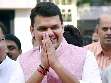 Maharashtra CM Devendra Fadnavis delayed a flight by around an hour. PTI
