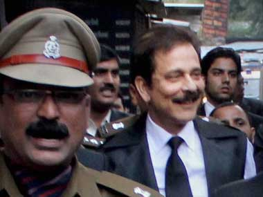 Subrata Roy, Sahara India head. PTI