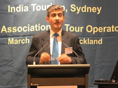 Ravi Thapar in a  file photo. Image courtesy: Facebook page of Indian High Commission in Wellington