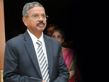 Chief Justice of India HL Dattu. Image courtesy: PIB