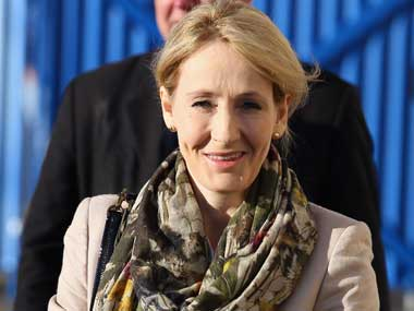 JK Rowling. Getty Images