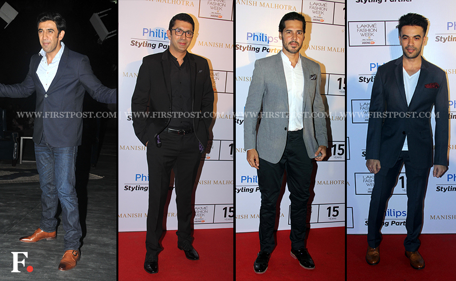 Print :On Day 1 of the Lakme Fashion Week by Manish Malhotra in ...