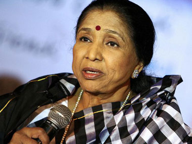 File photo of Asha Bhosle. PTI