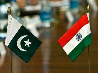 BJP said there was no role for third party in Indo-Pak talks. AFP