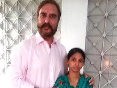 Geeta (right) will come back to India on 26 October.