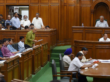 An experts' panel has recommended a 400 percent hike in the basic salary of the Delhi MLAs. PTI