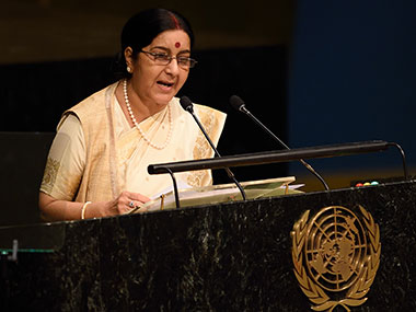 Sushma-Swaraj-at-UN_AFP