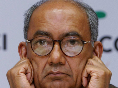 Digvijaya Singh in a file photo. PTI