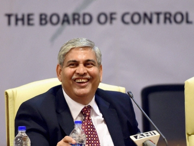 BCCI and ICC president Shashank Manohar. PTI