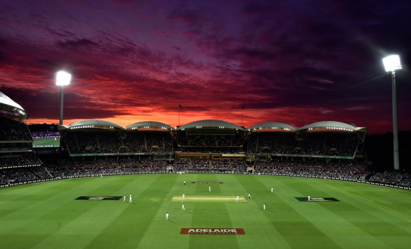 The first ever day-night Test was a huge success. AFP