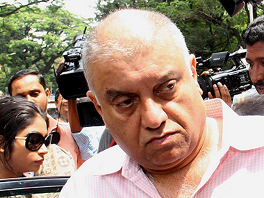 File image of Peter Mukerjea.  IBN-Live
