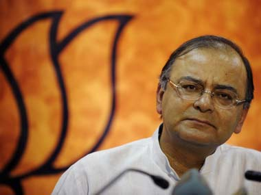 File image of Union Finance Minister Arun Jaitley. AFP
