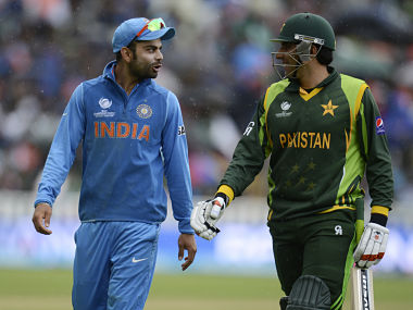 Virat Kohli and Misbah-ul-Haq in this file picture. Reuters