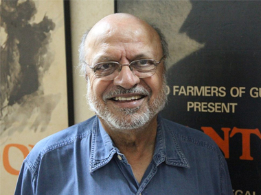 File image of Shyam Benegal. Wikimedia Commons