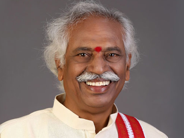Bandaru Dattatreya in a file photo. Image courtesy: Wikipedia