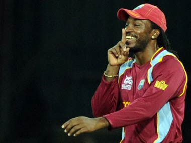 Chris Gayle. AFP