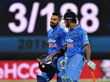 Virat Kohli's 55-ball 90 earned him the Man of the Match award in the 1st T20I. Getty