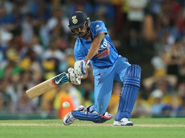 Manish Pandey's ton off 80 balls powered India to a consolation win. AFP
