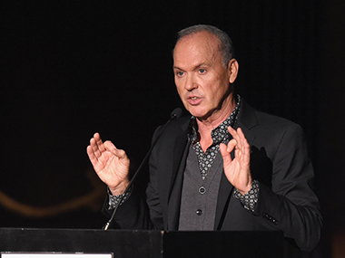 Michael Keaton. Getty Images.