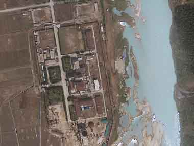Image of Reactor in North Korea. AP