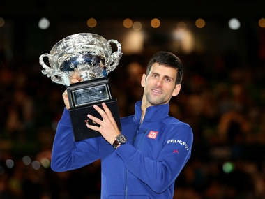 Novak Djokovic won his sixth Australian Open title. Getty