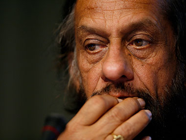 RK Pachauri. Getty Images