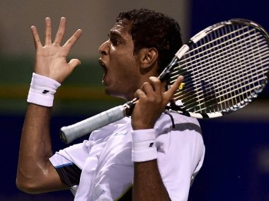 Local lad Ramkumar Ramanthan reached the Quarterfinals of the Chennai Open. PTI